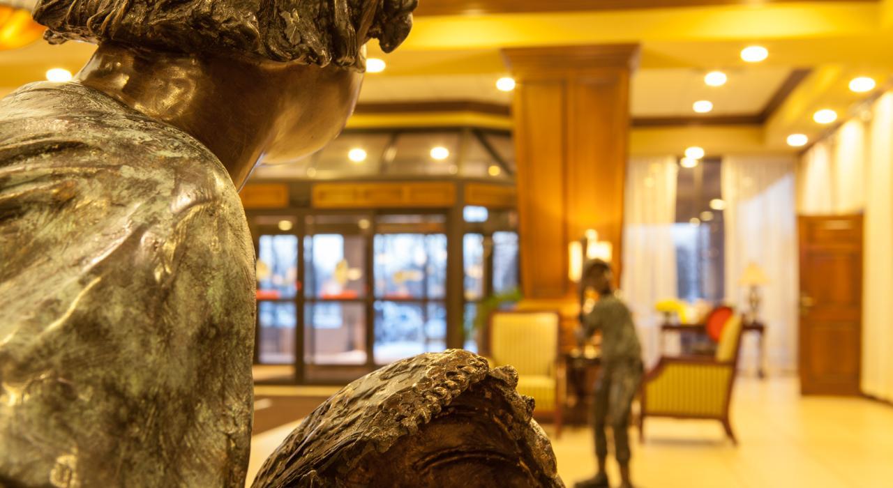 Lobby Statues